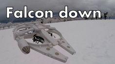RC Millennium Falcon - Falcon down