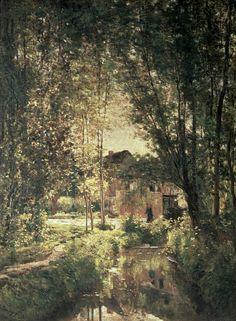 Landscape Painting by Charles Francois Daubigny - Landscape Fine Art Prints and Posters for Sale