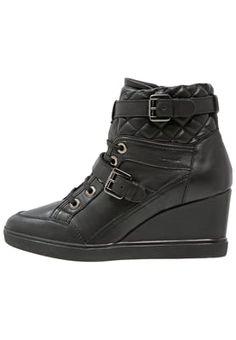 ELENI - Sneakers hoog - black