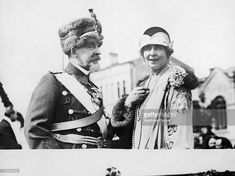 King Ferdinand 1St And His Wife Queen Marie Of Romania Between 1920 And 1925.  (Photo by Keystone-France/Gamma-Keystone via Getty Images)