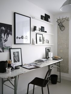 desk - narrow home office