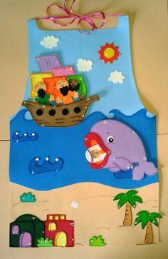 avental de histórias bíblicas - Pesquisa Google Bible Story Crafts, Bible Crafts For Kids, Diy For Kids, Activities For Kids, Whale Crafts, Islam For Kids, Puppets For Kids, Kids Class, Sunday School Crafts