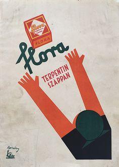 Flora turpentine soap (Berény, Róbert - 1930)