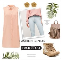 """""""Pack and Go:  Labor Day"""" by violinistkitty ❤ liked on Polyvore featuring Miriam Haskell, Bershka, Pier 1 Imports, Bomedo, StyleNanda, Packandgo and laborday"""