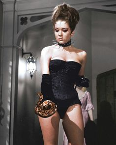 Diana Rigg as Emma Peel in the Avengers