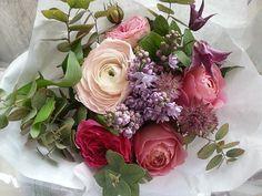 Roses lilacs