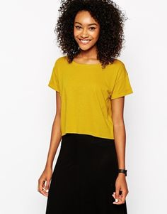 Image 1 of Monki Boxy T-shirt