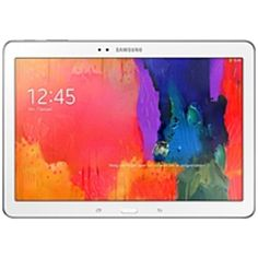 Samsung Galaxy TabPRO SM-T520 16 GB Tablet - 10.1 - Super Clear - Wireless LAN - Samsung Exynos 5 Octa 5420 1.90 GHz - White - 2 GB RAM - Android 4.4 KitKat - Slate - 2560 x 1600 Multi-touch Screen 16:10 Display - Bluetooth - GPS - 1 x Total Micro USB Po