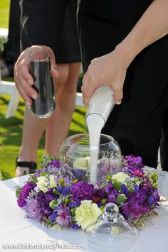 We won't miss a moment of your #weddingceremony! #weddingphotography #lehighvalley #berkscounty #centralpa #poconos #sand #unitycandle #brideandgroom #details www.celebrationsdjphoto.com