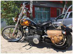 26 calowe koło frezowane CNC w pracowni RoadStyler Harley Wide Glide, Cnc, Honda, Motorcycle, Vehicles, Biking, Motorcycles, Vehicle, Engine