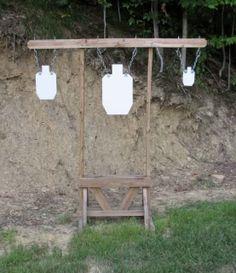 at home outdoor gun range Outdoor Shooting Range, Shooting Table, Outdoor Range, Shooting Gear, Shooting Sports, Pistol Targets, Metal Targets, Archery Range, Range Targets