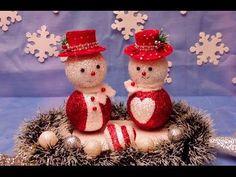 Beautiful Christmas  - Snowman - Hat decoration - YouTube