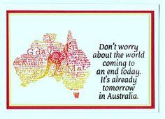 Quick Aussie card
