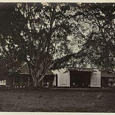Padang. Hotel, Woodbury & Page, 1863 - 1869 - Rijksmuseum