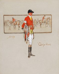 """Snaffles - """"Out for blood. Horse Illustration, Graphic Illustration, Horse Posters, Fox Hunting, Vintage Horse, Horse Print, Art Series, European History, Sports Art"""