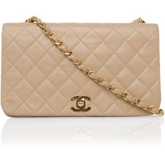 CHANEL REWIND Medium Quilted Shoulder Bag (6,315 CAD) ❤ liked on Polyvore featuring bags, handbags, shoulder bags, purses, bolsas, clutches, chain strap handbag, vintage shoulder bag, quilted handbags and chain strap purse