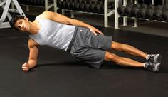 Side bridges improve the stability of all the muscles surrounding your spine and stomach.