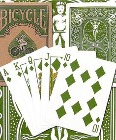 MADE IN USA...Look at this #zulilyfind! Bicycle Eco-Edition Poker Playing Cards #zulilyfinds