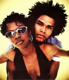 Photo of the Day: Maxwell and Lauryn Hill