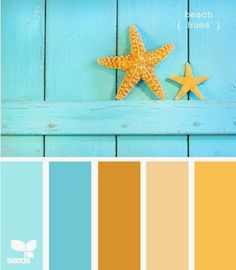 beach hues Color Palette by Design Seeds Summer Color Palettes, Summer Colors, Colour Palettes, Color Palette Blue, Design Seeds, Beach Color, Beach House Colors, Colour Board, Color Swatches