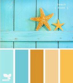 beach hues Color Palette by Design Seeds Summer Color Palettes, Summer Colors, Colour Palettes, Color Palette Blue, Design Seeds, Pantone, Beach Color, Beach House Colors, Colour Board