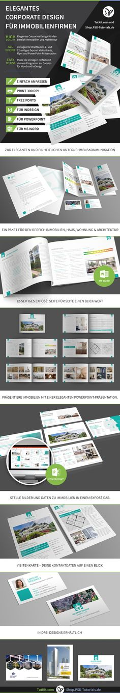 Die 130 Besten Bilder Von Immobilien Marketing Vorlagen