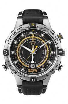 Main Image - Timex®  Intelligent Quartz  Compass Watch Rugged Watches e987d1c883