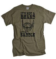 Funny Beard Shirt for men funny beard tshirt by gorillatactical, $14.99