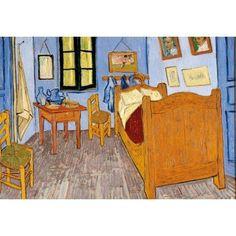 an Goghs Bedroom in Arles,oil paintings on canvas - Van Gogh, oil ...