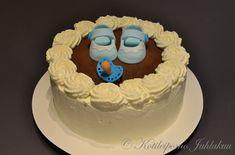 Poikavauvan ristiäiskakku Baby Shower, Cake, Desserts, Food, Babyshower, Tailgate Desserts, Deserts, Kuchen, Essen
