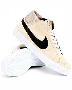 Nike Men's Blazer Sneakers in Khaki