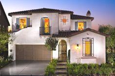 Santa Barbara style house in Chino
