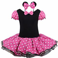 Girls Christmas Outfits, Kids Outfits, Party Outfits, Minnie Mouse Party Costume, Mouse Costume, Robe Tutu Halloween, Halloween Costumes, Minnie Dress, Minnie Cake