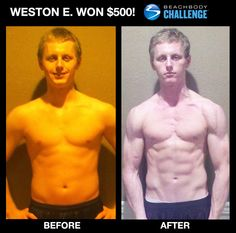 """:::November 8th, 2012::: Weston E. went from scrawny to BRAWNY! --->""""The results I got with P90X2 exceeded all my expectations. ...I put everything I had into P90X2, and a year later, it all paid off. Now I'm stronger, faster, healthier, and have so much confidence. I went from a lazy boy who watched movies and played video games all day, to a man who now gets up early, works out daily, has tons of energy, and finally—yes finally—has a social life."""""""