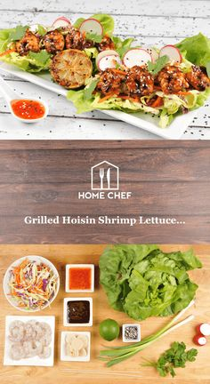 Hoisin and sweet chili sauce are two powerhouse ingredients featured in this dish. Hoisin imparts a sweet and salty flavor to the smoky grilled shrimp and the sweet chili sauce gives the slaw a beautifully balanced bite. Nestle all the above into a tender Boston lettuce leaf and you have a hand-held treat that has few rivals.