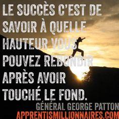 Citation Général Georges Patton - http://apprentismillionnaires.com/citations-fond-ecran/citation-general-georges-patton/