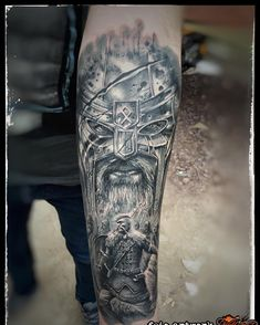 """place """"Big Black and white"""" Sunday at Ireland 2016 Celtic Warrior Tattoos, Norse Tattoo, Celtic Tattoos, Viking Tattoos, Badass Tattoos, Sexy Tattoos, Tattoos For Guys, Tattoo Sleeve Designs, Sleeve Tattoos"""