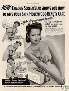 Vintage Beauty Ads | Vintage Beauty and Hygiene Ads of the 1940s (Page 86)