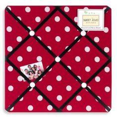 e5f1bfa6c8ac Sweet Jojo Designs Polka Dot Ladybug Memo Board Ladybug Room, Baby Ladybug,  Ladybug Nursery