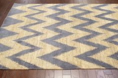 Rugs USA Indulge Chevron Natural Rug | Contemporary Rugs