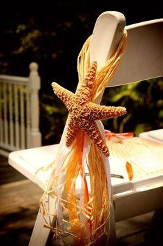 DIY chair decor for destination wedding. http://www.weddingthingz.com/margareth--ryan.html