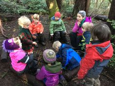 Nature is our original classroom. I think we're catching on that it might also be the best classroom. Here's How to Join the Forest Kindergarten Movement #ForYourChildsHealth #earlychildhood #earlylearning #childcare #education