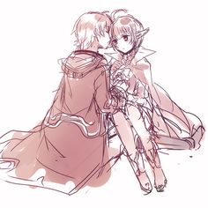 Fire Emblem: Morgan and Nah CUTENESS OVERLOADING!!!