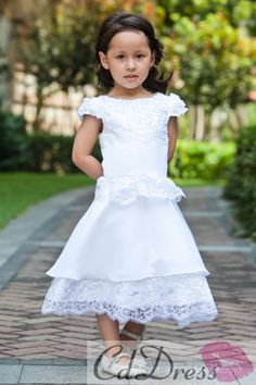 cute flower girl dresses. find it from cddress.com