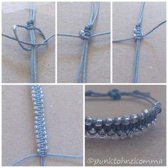 diy bracelet with beads