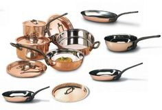 Bourgeat 13 Piece Copper Cookware Set BOURGEAT http://www.amazon.com/dp/B00C9JHAU8/ref=cm_sw_r_pi_dp_6qTSwb0EHPTWZ