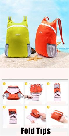 US$8.44 Easy and Covenient, Portable Travel Folding Bags For Women And Men