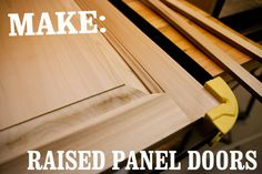 Skill Builder: How To Make Raised Panel Cabinet Doors, Part Ii – The Anatomy Of…