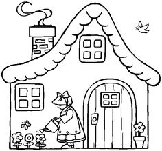 Free printable kid coloring pages, coloring sheets and coloring pictures. Free Printable Coloring Pages, Coloring For Kids, Coloring Sheets, Coloring Pages For Kids, Coloring Books, Patchwork Quilt Patterns, Quilt Patterns Free, Hand Embroidery Patterns, House Colouring Pages