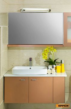 White High Gloss Lacquer Bathroom Cabinet Design From Oppeinhome Oppein South Africa Showroom Pinterest Cabinets And